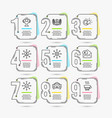 laureate award taxi and networking icons vector image