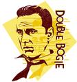original Humphrey Bogart vector image vector image