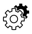 tools white-black vector image