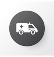 ambulance icon symbol premium quality isolated vector image vector image