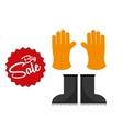 big sale of farm tools vector image