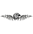 eagle tribal tattoo vector image vector image