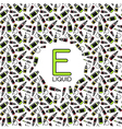 Endless e liquid background vector image vector image