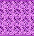 geometrical violet seamless abstract square vector image vector image