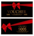 Gift Voucher Template For Your Business vector image vector image