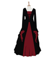 Gothic dress vector image vector image