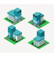 isometric clinic vector image