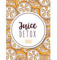 juice detox background