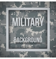 Military modern pixel camo background vector image vector image
