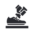 shoemaker icon vector image vector image