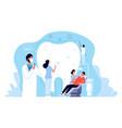 stomatology orthodontics clinic dental hygiene vector image