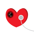 heart disease vector image