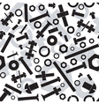 Nuts and bolts Seamless vector image