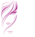 Girl abstract vector | Price: 1 Credit (USD $1)