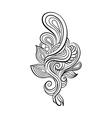 Decorative art flowers vector image vector image