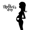 inspirational poster for mothers day vector image vector image