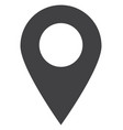 map marker flat icon symbol vector image