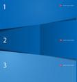 modern blue design template vector image vector image