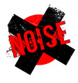 noise rubber stamp vector image