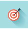 Target flat icon vector image