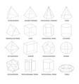 all basic 3d shapes template realistic