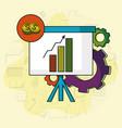 business idea doodle vector image vector image