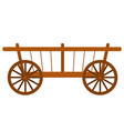 countryside trolley harvest festival cart vector image vector image