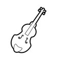 musical instruments orchestra vector image vector image