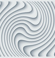 paper cut waves modern background vector image