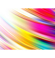 abstract colorful fluid design wave liquid vector image vector image