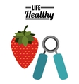 life healthy design vector image