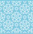 light blue ornamental pattern vector image