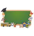Schooling Board vector image vector image