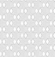 Slim gray hexagons and diamonds vector image