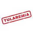 Tularemia Rubber Stamp vector image vector image