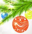 Christmas Ornamental Design vector image