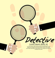 Detective Concept EPS10 vector image vector image