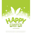 Easter Template for brochure Rabbit ears sticking vector image vector image
