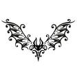 halloween tribal vector image vector image