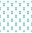 Hourglass with gold dust and coins pattern vector image