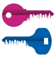 key logo design template City or vector image vector image