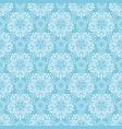 blue elegant pattern vector image vector image