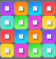 colored squares seamless backfround vector image vector image