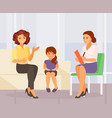 family psychologist vector image