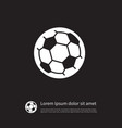 isolated ball icon football element can b vector image vector image