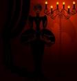 shadow of demon vector image