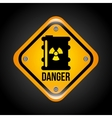 caution signal vector image vector image