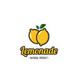 lemonade logo designs juice logo designs vector image