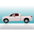 Pick-up truck big vector image vector image