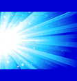 sunbeam background vector image vector image